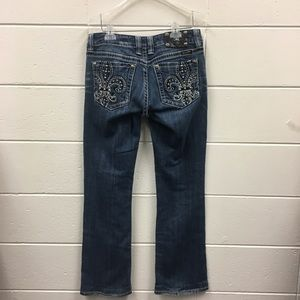 Miss Me Boot cut jeans Embellished pockets 30x30